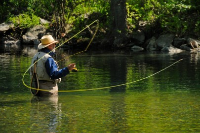 Ловля риби нахлистом