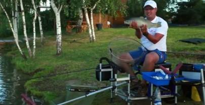 Ловля коропа на фідер з Олексієм Фадєєвим (відео)